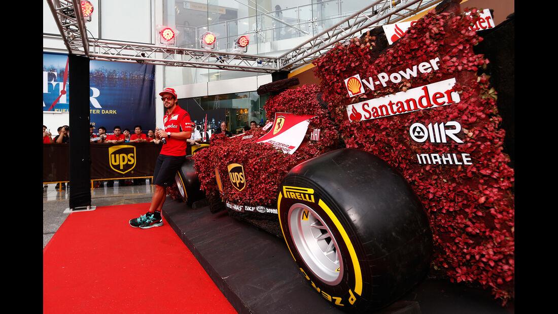 Fernando Alonso - Ferrari - Formel 1 - GP Singapur - 18. September 2014