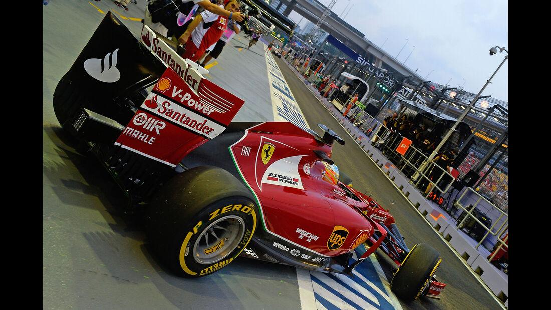 Fernando Alonso - Ferrari - Formel 1 - GP Singapur - 19. September 2014