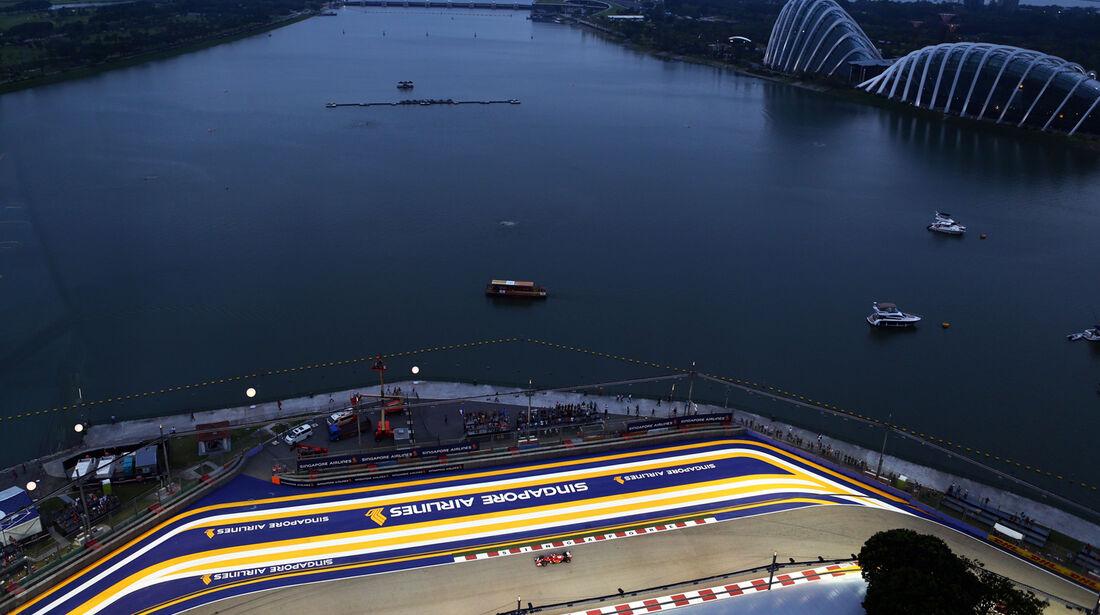 Fernando Alonso - Ferrari - Formel 1 - GP Singapur - 20. September 2014