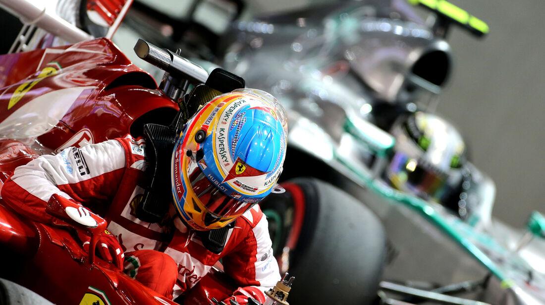 Fernando Alonso - Ferrari - Formel 1 - GP Singapur - 21. September 2013