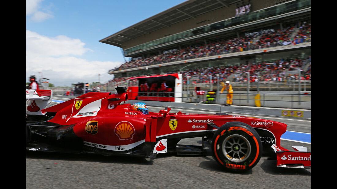 Fernando Alonso - Ferrari - Formel 1 - GP Spanien - 10. Mai 2013