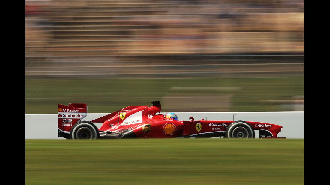 Fernando Alonso - Ferrari - Formel 1 - GP Spanien - 11. Mai 2013