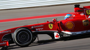 Fernando Alonso - Ferrari - Formel 1 - GP USA - 15. November 2013