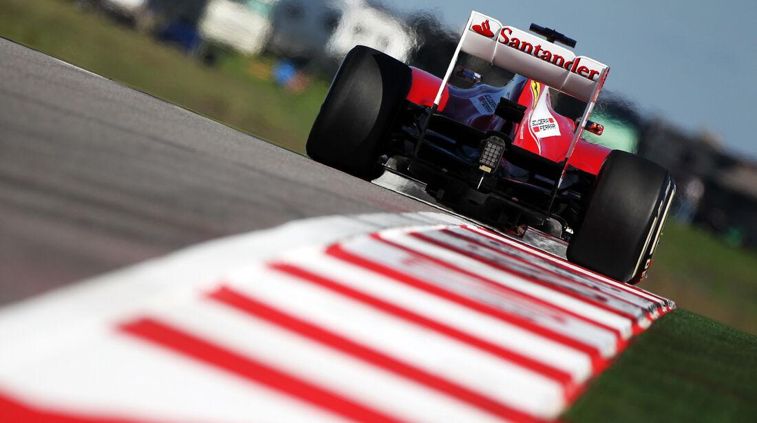 Fernando Alonso - Ferrari - Formel 1 - GP USA - 15. November 2013