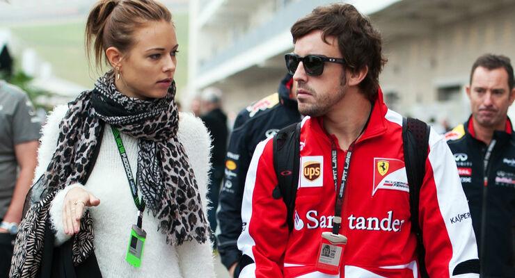Fernando Alonso - Ferrari - Formel 1 - GP USA - 16. November 2013