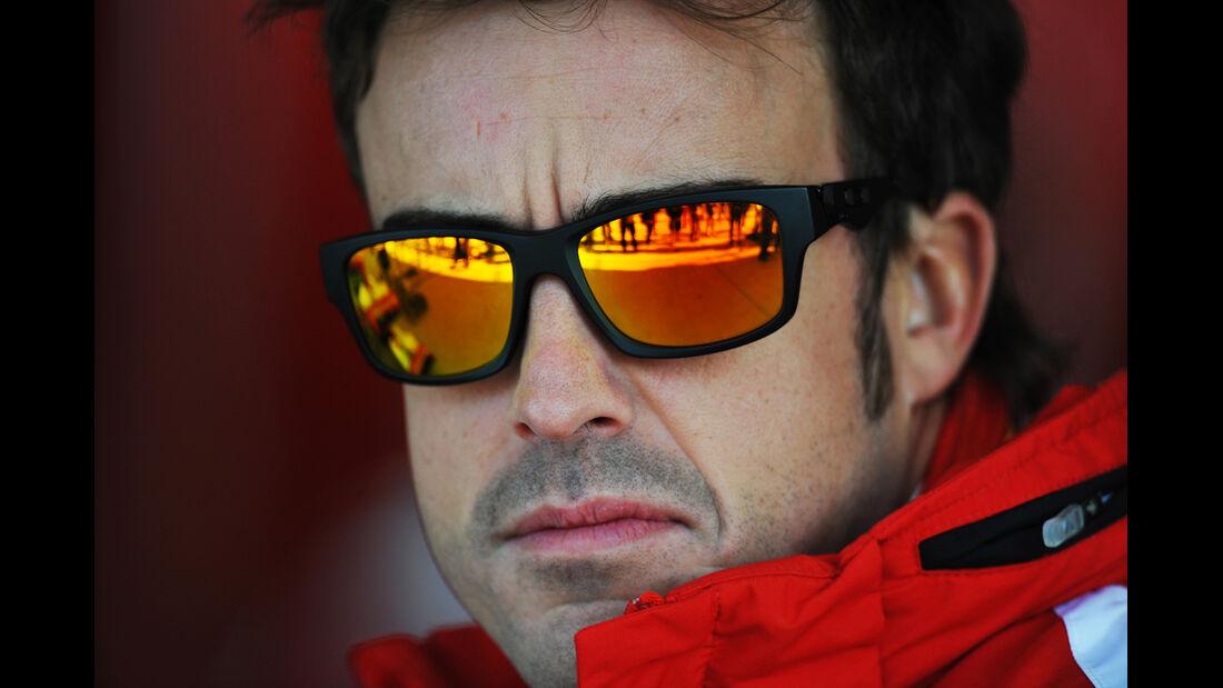 Fernando Alonso - Ferrari - Formel 1 - GP USA - Austin - 17. November 2012