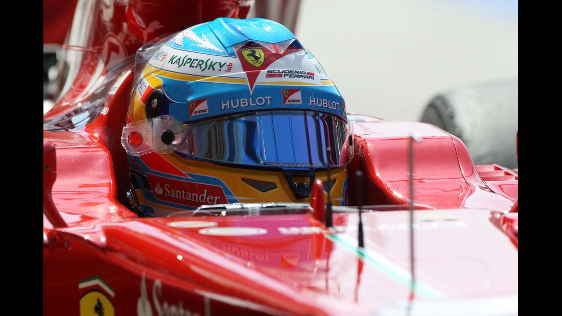 Fernando Alonso - Ferrari - Formel 1 - GP Ungarn - 26. Juli 2013
