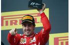 Fernando Alonso - Ferrari - Formel 1 - GP Ungarn - 27. Juli 2014