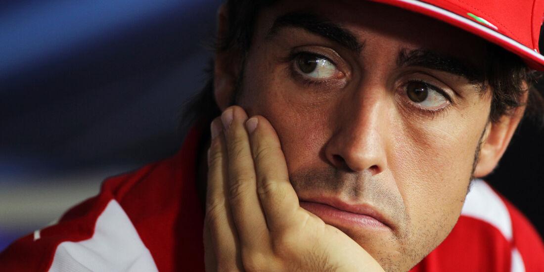 Fernando Alonso - Ferrari - Formel 1 - GP Ungarn - Budapest - 26. Juli 2012