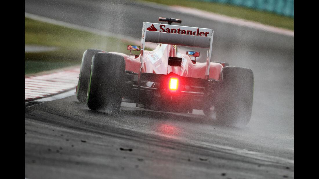 Fernando Alonso - Ferrari - Formel 1 - GP Ungarn - Budapest - 27. Juli 2012