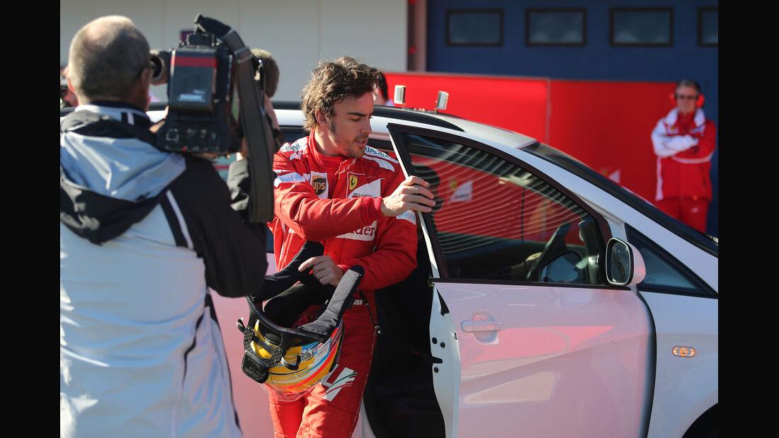 Fernando Alonso - Ferrari - Formel 1 - Jerez - Test - 30. Januar