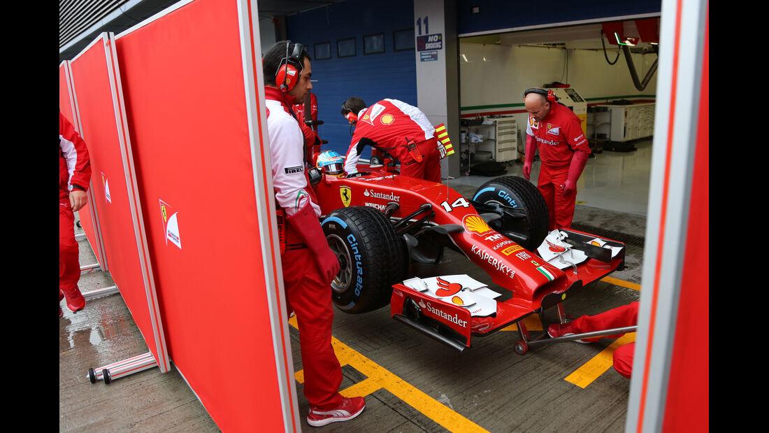 Fernando Alonso - Ferrari - Formel 1 - Jerez - Test - 31. Januar 2014