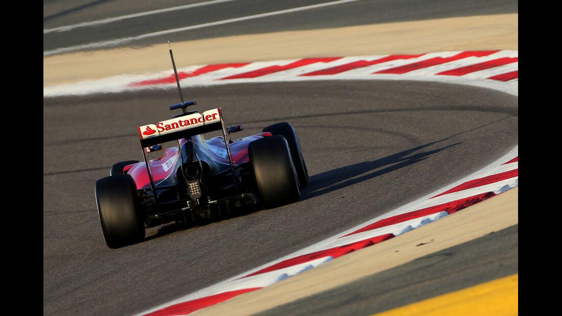 Fernando Alonso - Ferrari - Formel 1 - Test 1 - GP Bahrain 2014