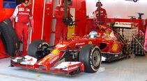 Fernando Alonso - Ferrari - Formel 1 - Test - Bahrain - 19. Februar 2014