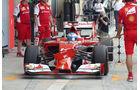 Fernando Alonso - Ferrari - Formel 1 - Test - Bahrain - 28. Februar 2014