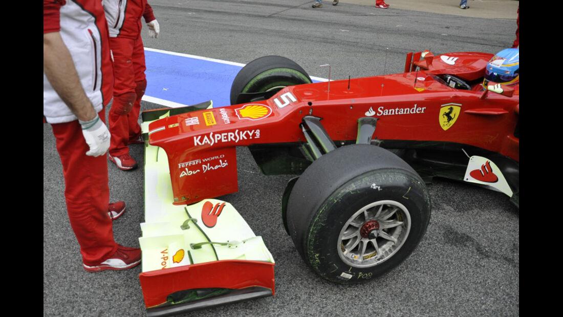 Fernando Alonso - Ferrari - Formel 1-Test Barcelona - 4. März 2012