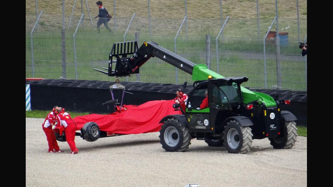 Fernando Alonso - Ferrari - Formel 1-Test - Mugello - 3. Mai 2012