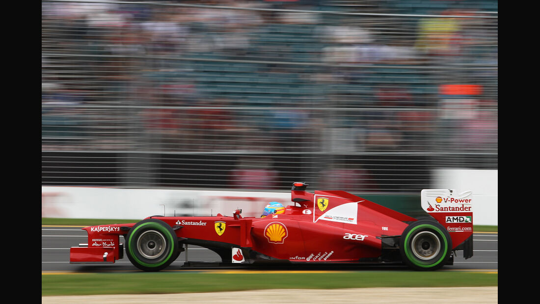 Fernando Alonso - Ferrari - GP Australien - Melbourne - 16. März 2012