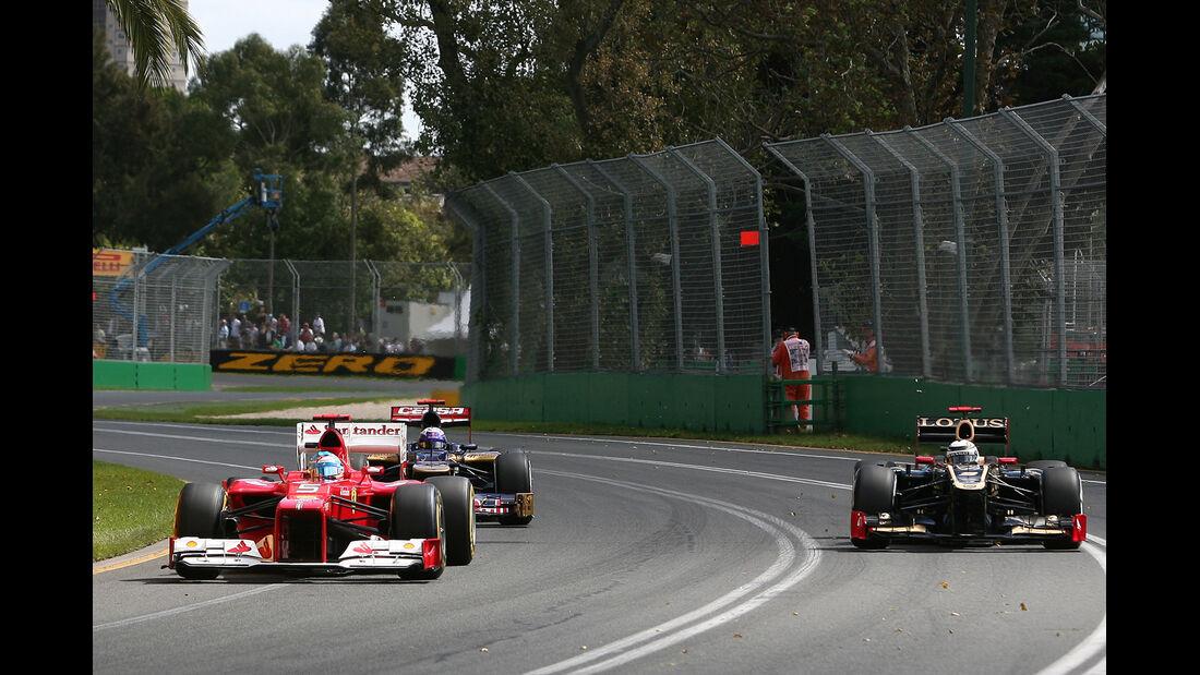 Fernando Alonso - Ferrari - GP Australien - Melbourne - 17. März 2012