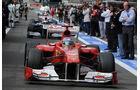 Fernando Alonso Ferrari GP Belgien 2011