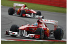 Fernando Alonso Ferrari GP England 2011