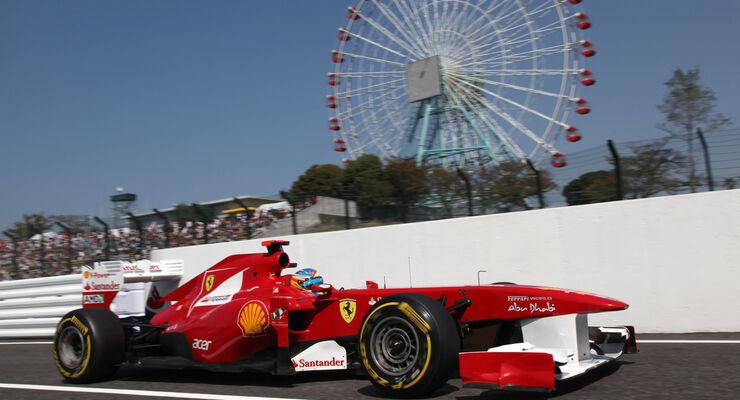 Fernando Alonso Ferrari GP Japan 2011