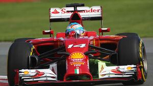 Fernando Alonso - Ferrari - GP Kanada 2014