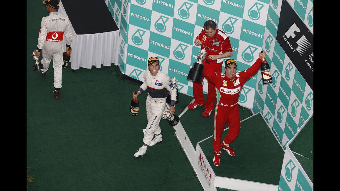 Fernando Alonso - Ferrari -  GP Malaysia 2012
