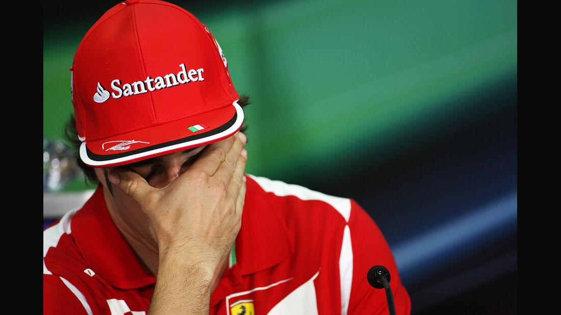 Fernando Alonso - Ferrari - GP Malaysia - 22. März 2012