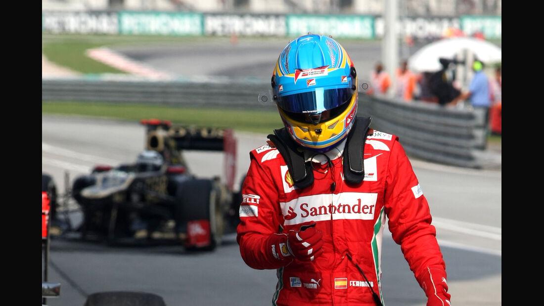 Fernando Alonso - Ferrari - GP Malaysia - 24. März 2012