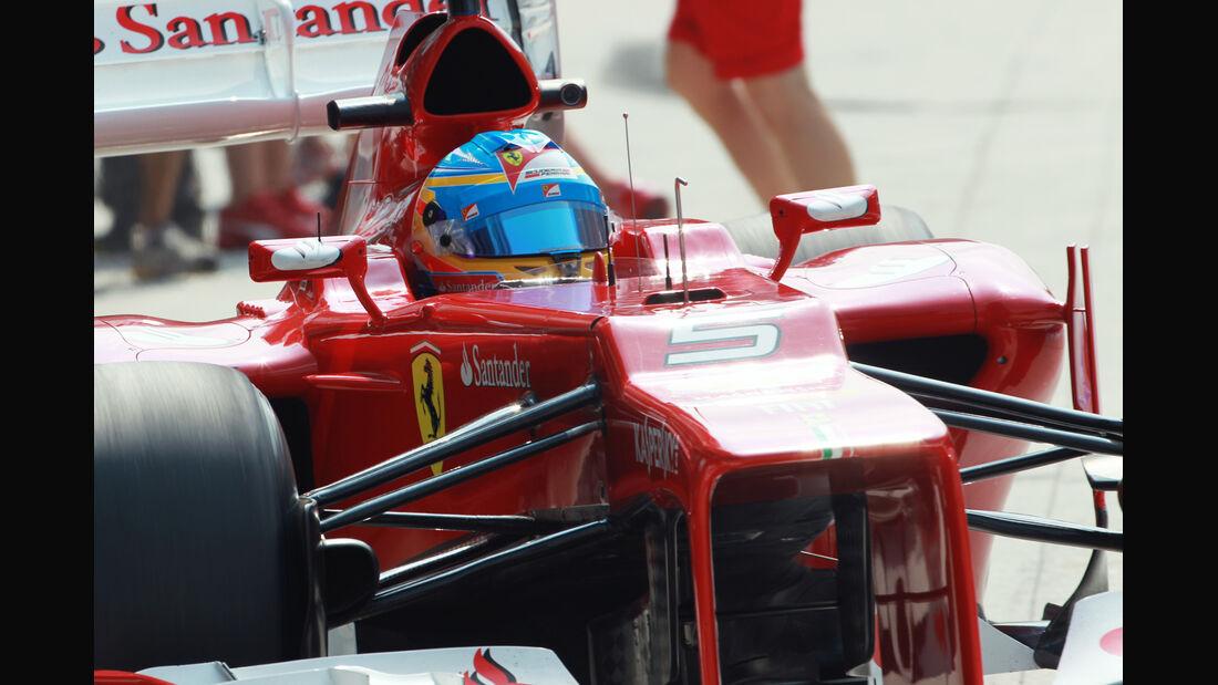 Fernando Alonso - Ferrari - GP Malaysia - Training - 23. März 2012
