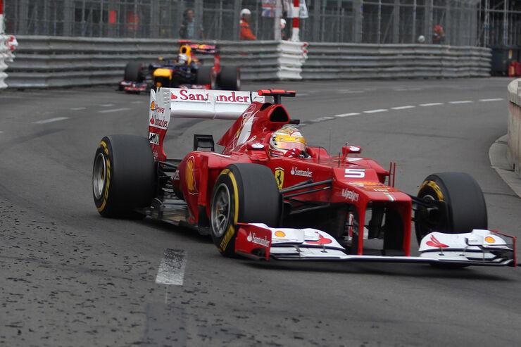 Strategiefehler In Monaco Ferrari Vergeigt Alonso Sieg Auto Motor Und Sport