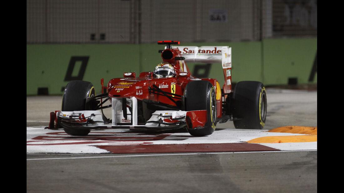 Fernando Alonso Ferrari GP Singapur 2011