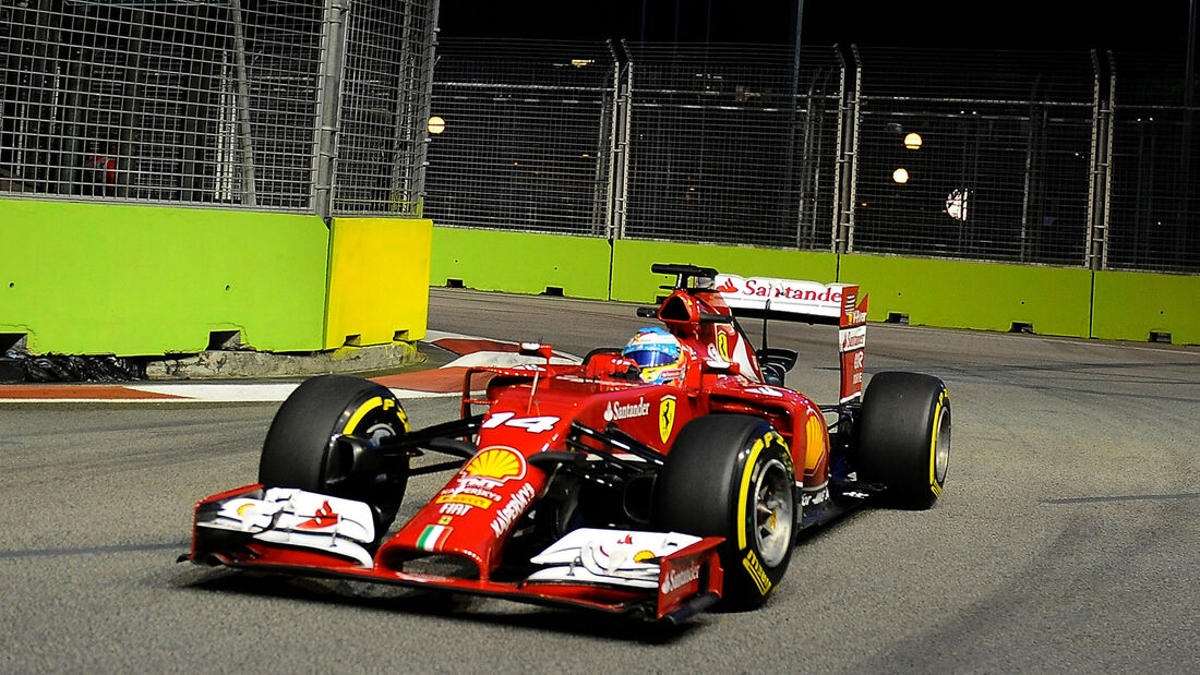 Fernando Alonso - Ferrari - GP Singapur 2014