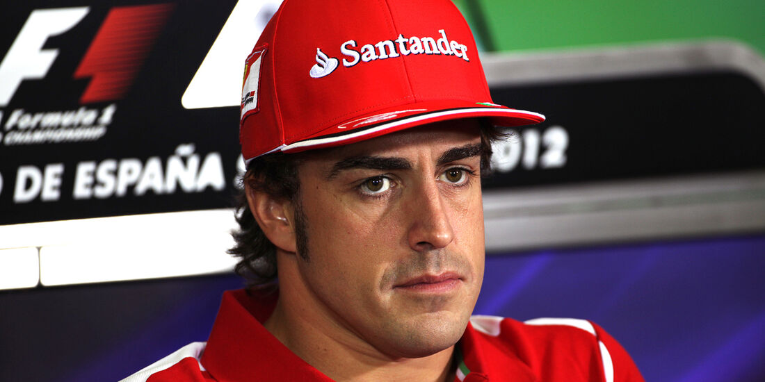 Fernando Alonso - Ferrari - GP Spanien - 10. Mai 2012
