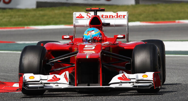 Fernando Alonso Ferrari GP Spanien 2012