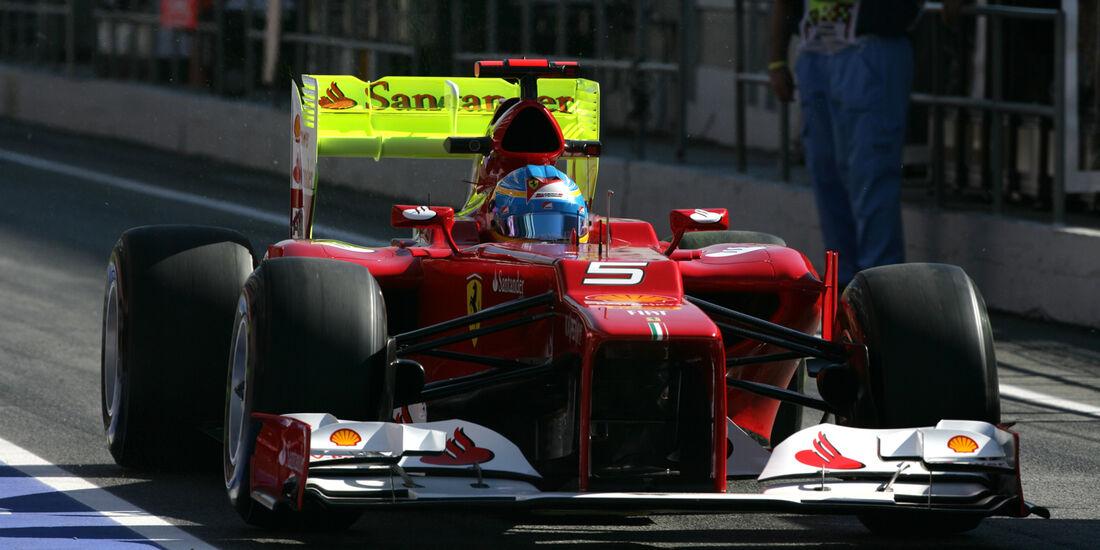 Fernando Alonso - Ferrari - GP Spanien 2012