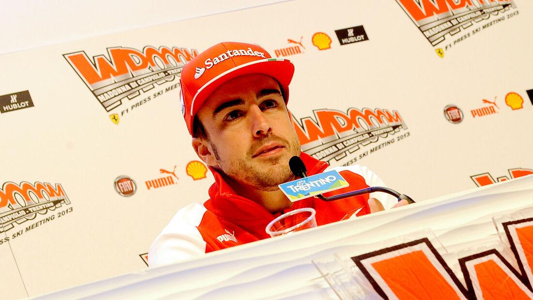 Fernando Alonso Ferrari Wroom 2013