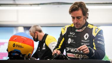 Fernando Alonso - Filmtag - Renault R.S.20 - Barcelona - 2020