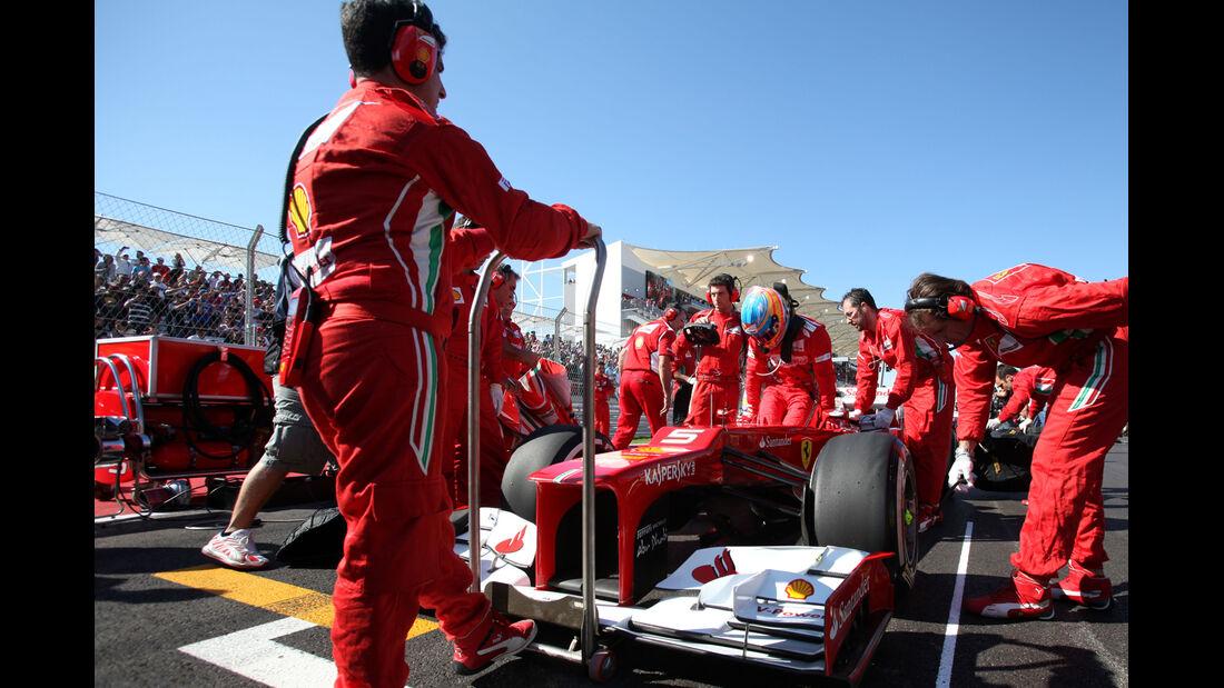 Fernando Alonso Formel 1 Austin GP USA 2012