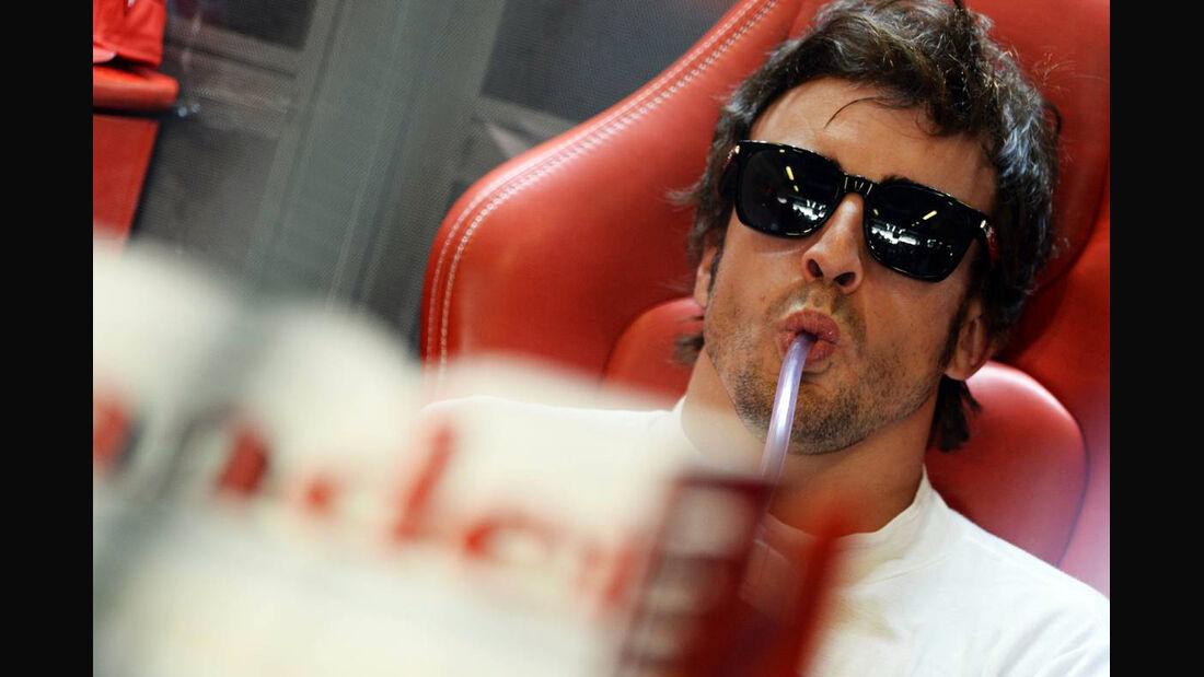 Fernando Alonso - Formel 1 - GP Abu Dhabi - 02. November 2013