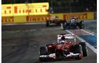 Fernando Alonso - Formel 1 - GP Abu Dhabi - 03. November 2013