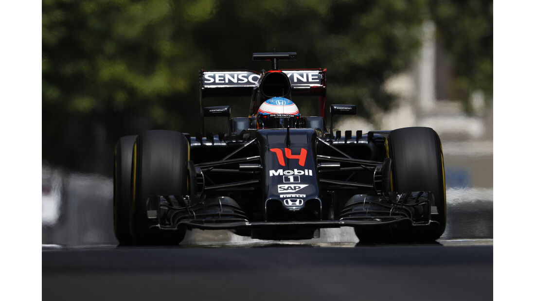Fernando Alonso - Formel 1 - GP Aserbaidschan 2016