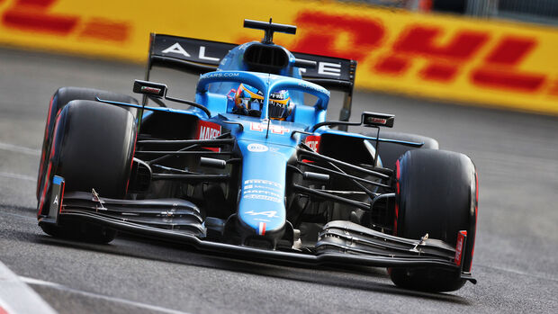 Fernando Alonso - Formel 1 - GP Aserbaidschan 2021
