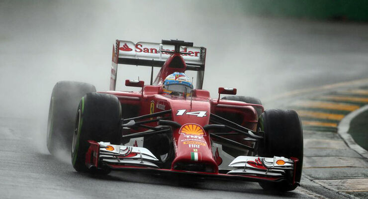 Fernando Alonso  - Formel 1 - GP Australien - 15. März 2014