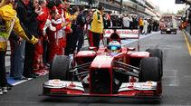 Fernando Alonso - Formel 1 - GP Australien 2013