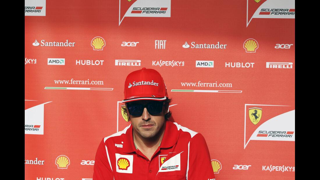 Fernando Alonso - Formel 1 - GP Bahrain - 19. April 2012