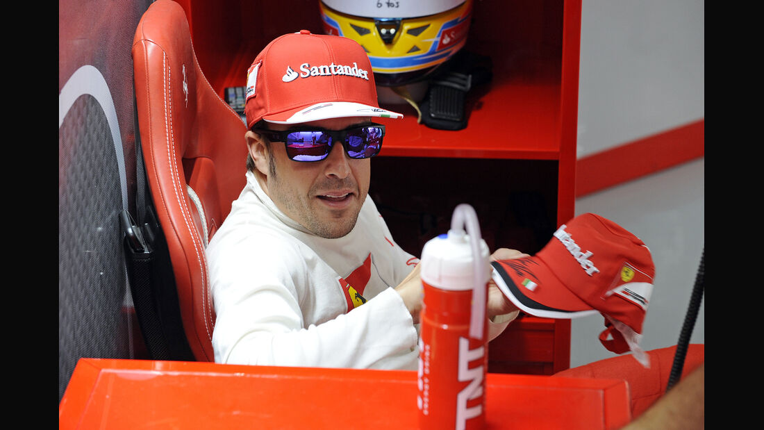 Fernando Alonso - Formel 1 - GP Bahrain - 20. April 2013