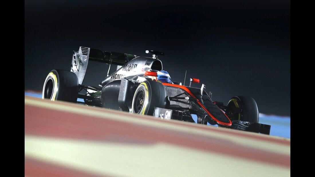 Fernando Alonso - Formel 1 - GP Bahrain 2015