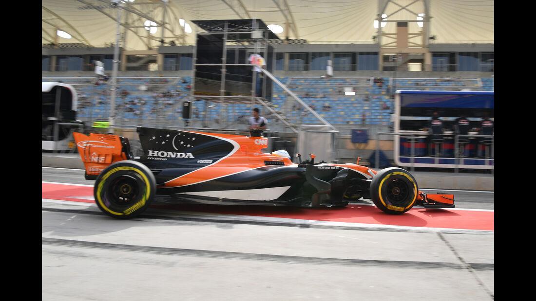 Fernando Alonso - Formel 1 - GP Bahrain 2017